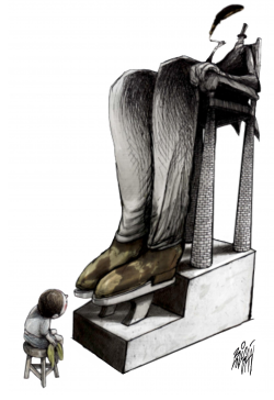 Shoeshine of the Future by Angel Boligan