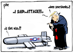 Trump and smart bombs by Tom Janssen