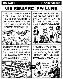 We Reward Failure by Andy Singer