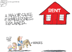 Housing Costs by Pat Bagley