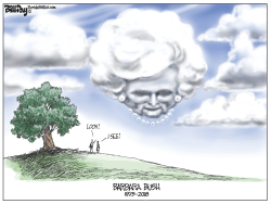 Barbara Bush by Bill Day