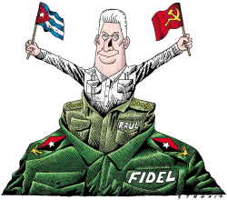 Changes in Cuba by Osmani Simanca