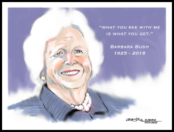 Barbara Bush Tribute by J.D. Crowe