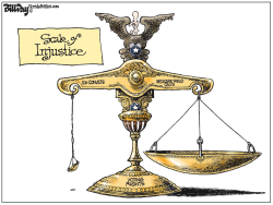 Scale of Injustice FLORIDA by Bill Day