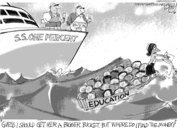 Teachers Pest by Pat Bagley