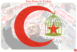 Free Press in Turkey 2 by Jose Neves