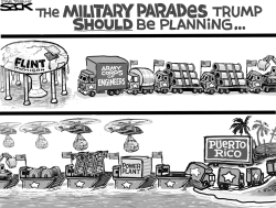 Military Parade by Steve Sack