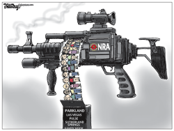 NRA in Dallas by Bill Day