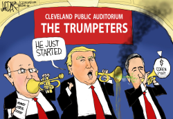 Trump in Cleveland by Jeff Darcy