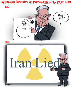 Bibi Says Iran Lied by NEMØ