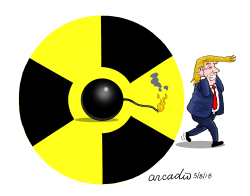 No to nuclear pact with Iran by Arcadio Esquivel