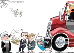 Iran Deal by Pat Bagley