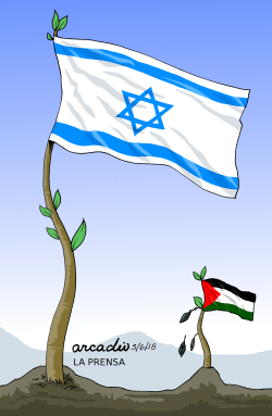Israeli and Palestinian differences by Arcadio Esquivel