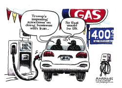 Gas prices color by Jimmy Margulies