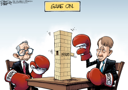 LOCAL OH DeWine vs Cordray by Nate Beeler