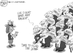 Dying Newspapers by Pat Bagley