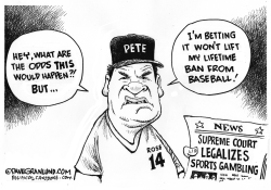 Sports gambling legal by Dave Granlund