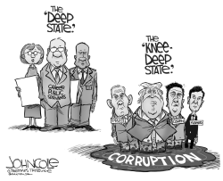 The Knee Deep State by John Cole