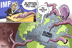 IMF on corruption by Paresh Nath