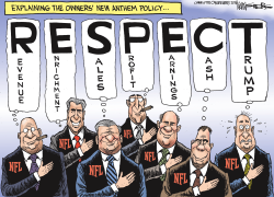 NFL Anthem Policy by Kevin Siers
