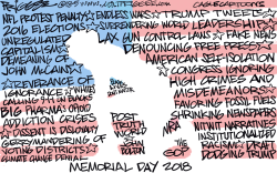 Memorial Day by Milt Priggee