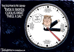 Broken Clock by Joe Heller