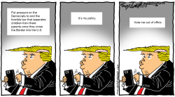 Trump tweets by Bob Englehart