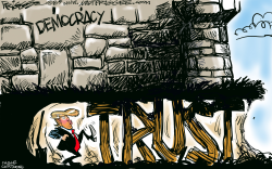 Trump Trust by Milt Priggee