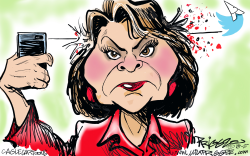 Roseanne by Milt Priggee