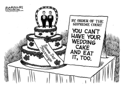 Masterpiece Cakeshop ruling by Jimmy Margulies