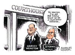 Harvey Weinstein color by Jimmy Margulies