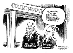 Harvey Weinstein by Jimmy Margulies
