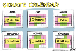Senate Cancels August Recess by RJ Matson