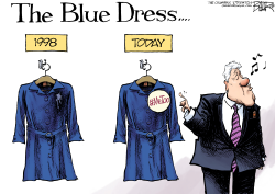 Bill Clinton Revisited by Nate Beeler