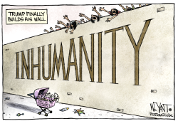 Wall of Inhumanity by Christopher Weyant