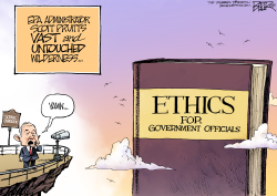 Scott Pruitt Ethics by Nate Beeler