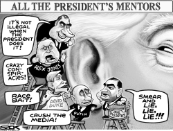 Trump Mentors by Steve Sack