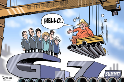 G-7 summit by Paresh Nath
