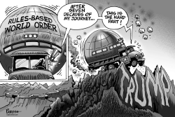 World order and Trump by Paresh Nath