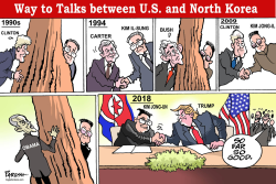 US-N.Korea way to talks by Paresh Nath