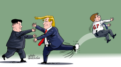 Trump Kim and G7/Trump Kim y el G7 by Arcadio Esquivel