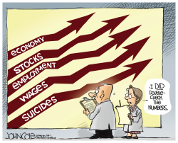 Suicide rate by John Cole