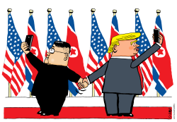 North Korea summit by Schot