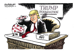 Trump Foundation color by Jimmy Margulies