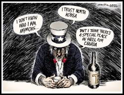 Drunk Uncle Sam by J.D. Crowe