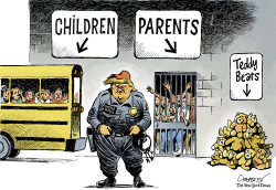 Family separation policy by Patrick Chappatte