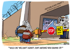Compassionate Conservative Migrants by RJ Matson