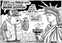 Immigrant Infestation by Wolverton