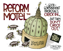 LOCAL PA Legislature and reform by John Cole