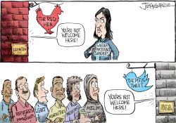 Red Hen by Joe Heller